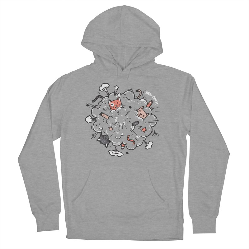 Cat-astrophe Men's Pullover Hoody by danielstevens's Artist Shop