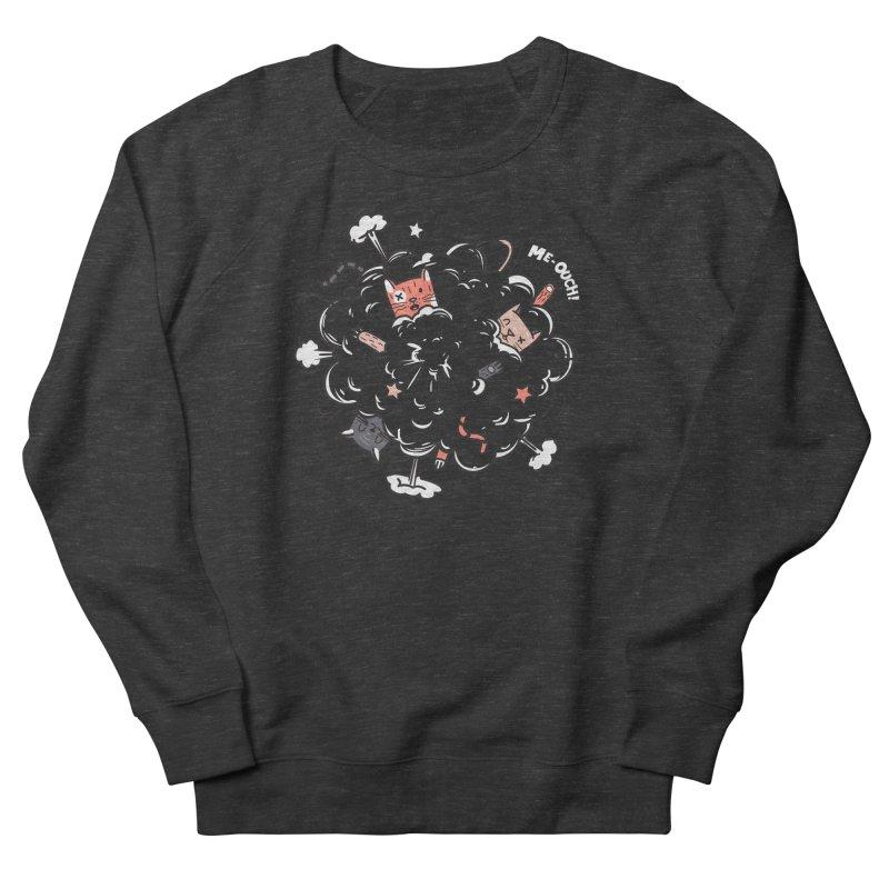 Cat-astrophe Men's Sweatshirt by danielstevens's Artist Shop