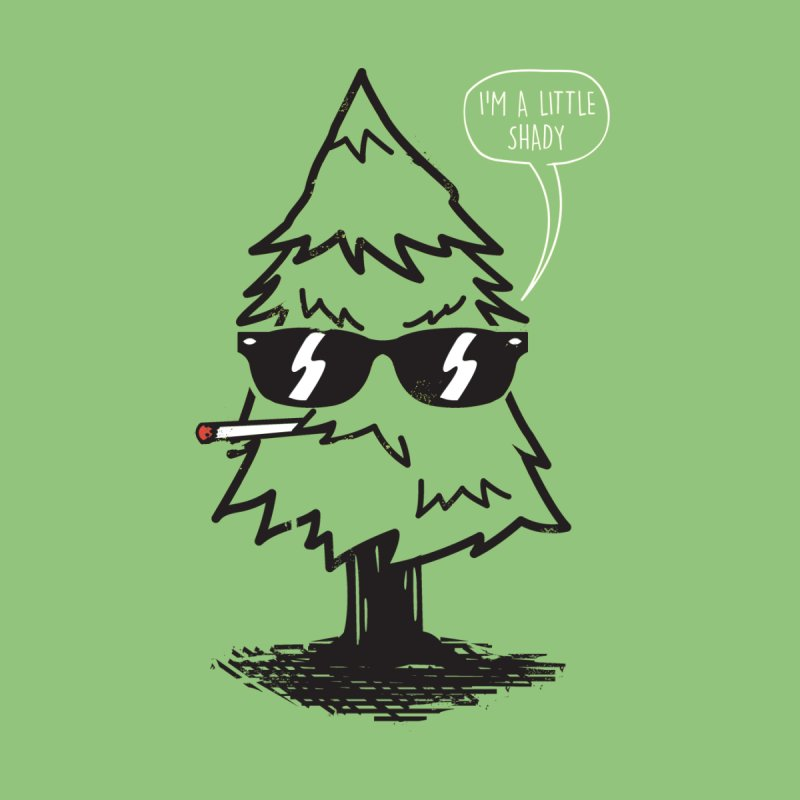 That tree is shady Men's Baseball Triblend T-Shirt by danielstevens's Artist Shop