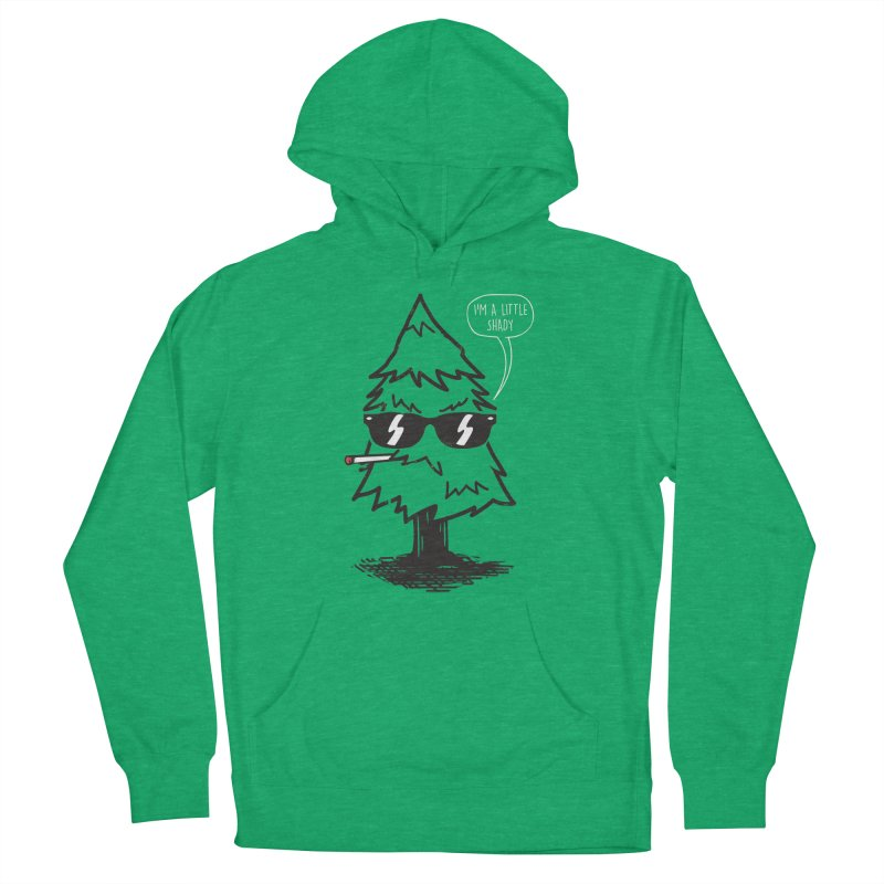 That tree is shady Men's French Terry Pullover Hoody by danielstevens's Artist Shop