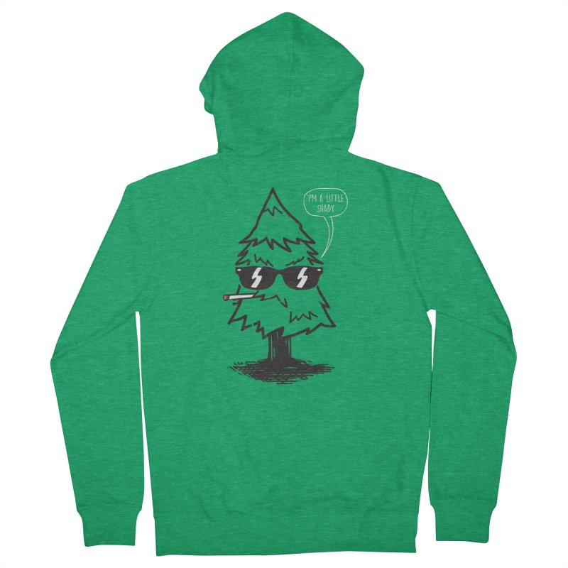 That tree is shady Men's Zip-Up Hoody by danielstevens's Artist Shop