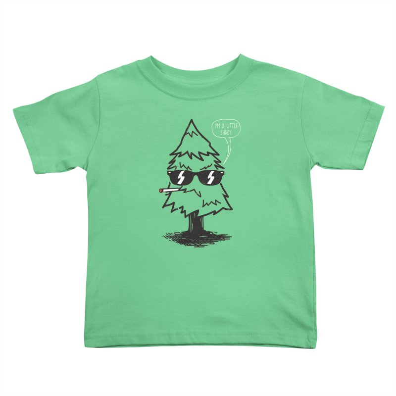 That tree is shady Kids Toddler T-Shirt by danielstevens's Artist Shop