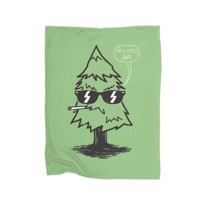 That tree is shady Home Blanket by danielstevens's Artist Shop