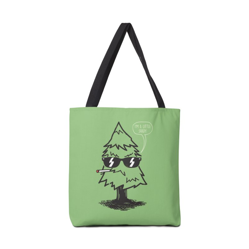 That tree is shady in Tote Bag by danielstevens's Artist Shop