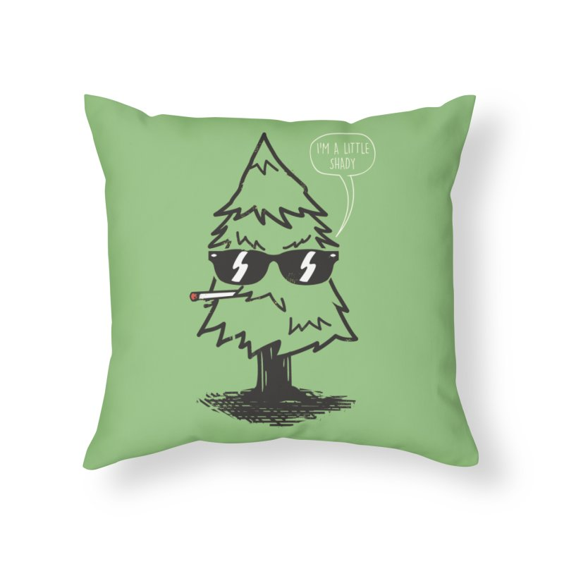 That tree is shady Home Throw Pillow by danielstevens's Artist Shop