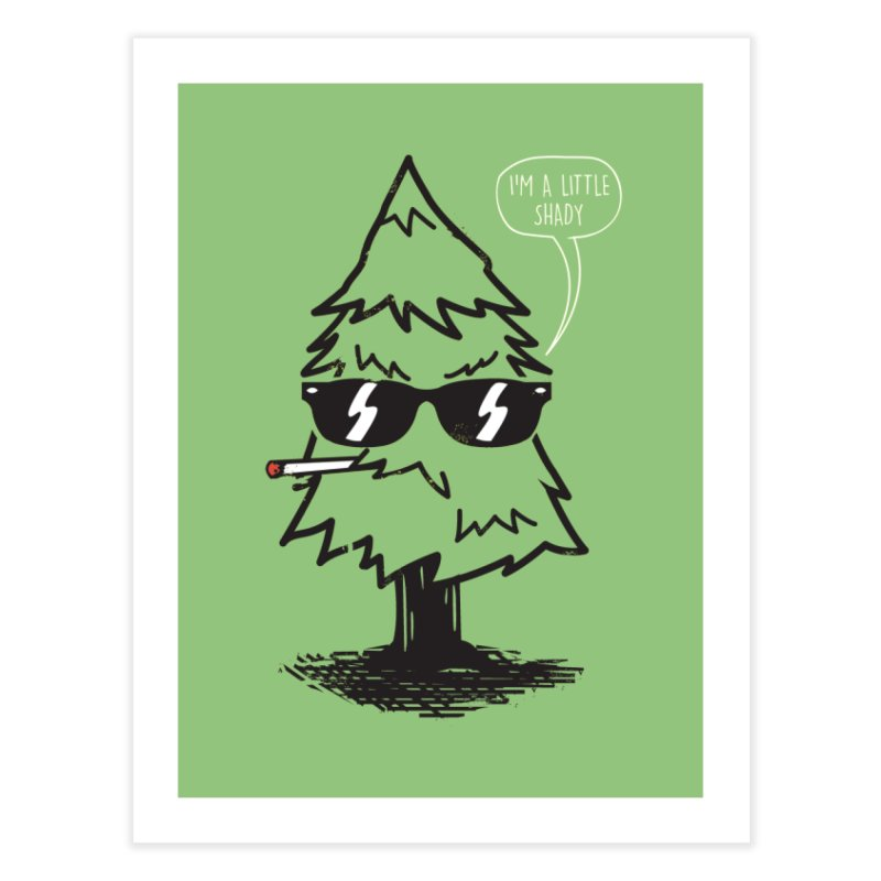 That tree is shady Home Fine Art Print by danielstevens's Artist Shop