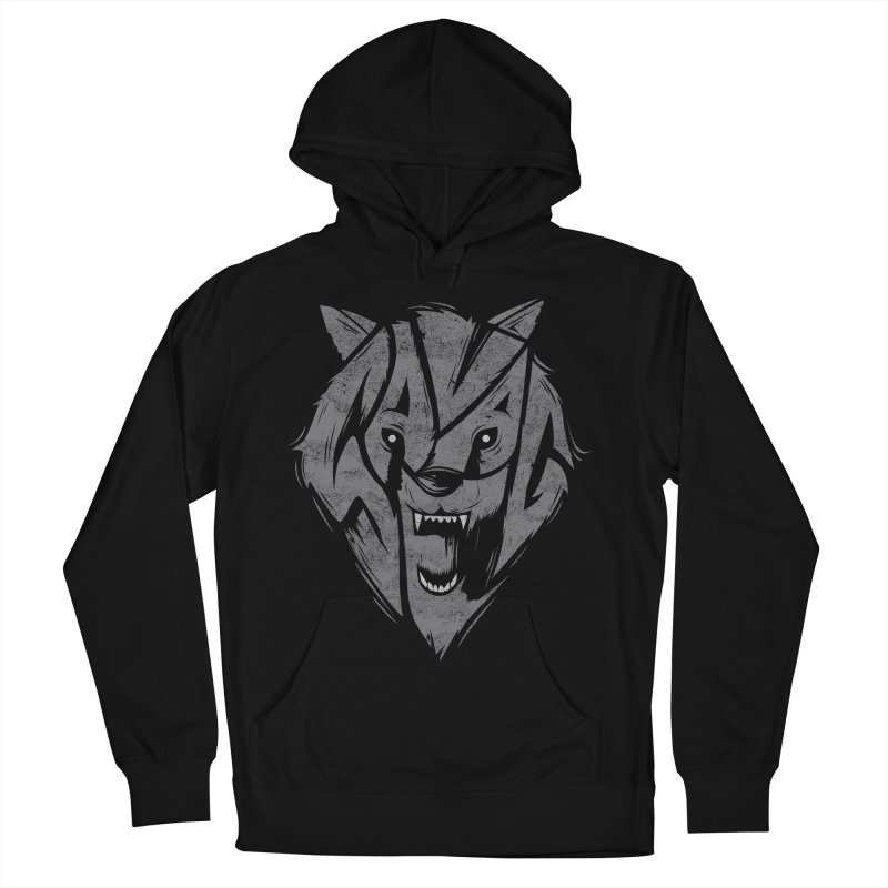 Savage Men's French Terry Pullover Hoody by danielstevens's Artist Shop