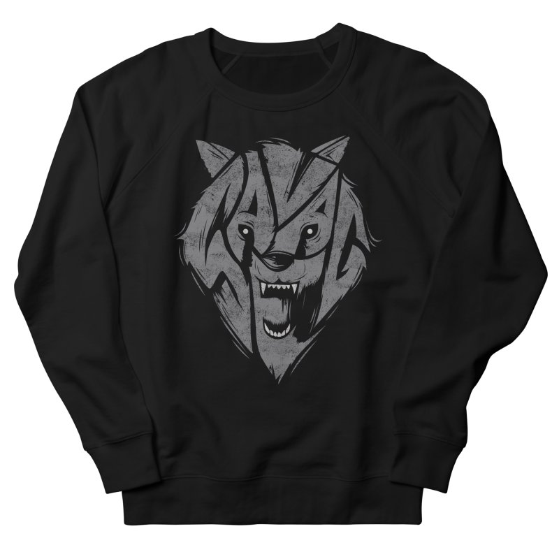 Savage Men's French Terry Sweatshirt by Daniel Stevens's Artist Shop