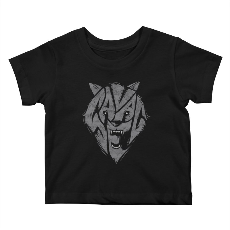 Savage Kids Baby T-Shirt by danielstevens's Artist Shop