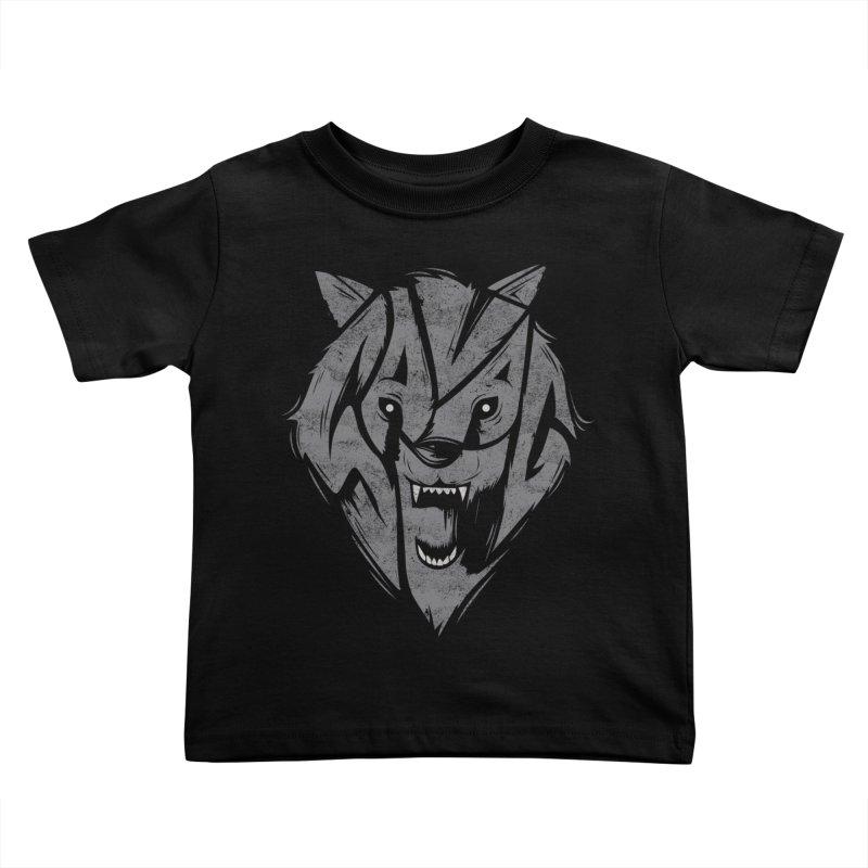 Savage Kids Toddler T-Shirt by danielstevens's Artist Shop