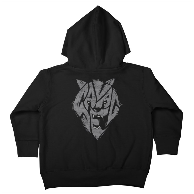 Savage Kids Toddler Zip-Up Hoody by danielstevens's Artist Shop