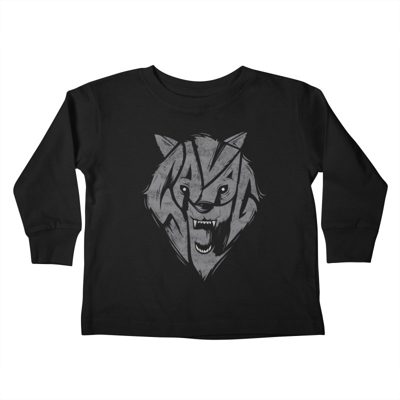 Savage Kids Toddler Longsleeve T-Shirt by danielstevens's Artist Shop