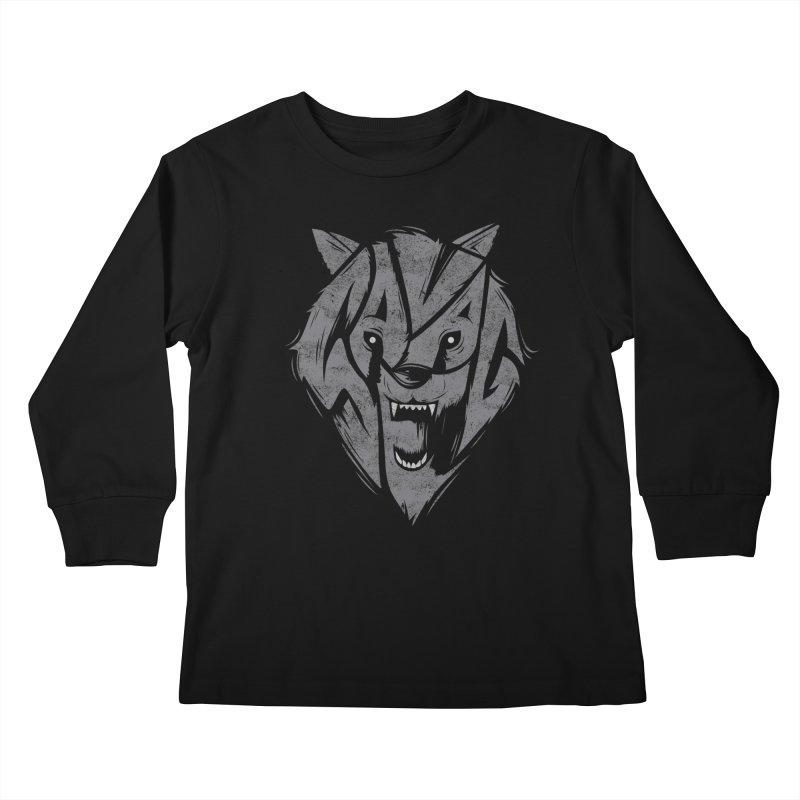 Savage Kids Longsleeve T-Shirt by danielstevens's Artist Shop