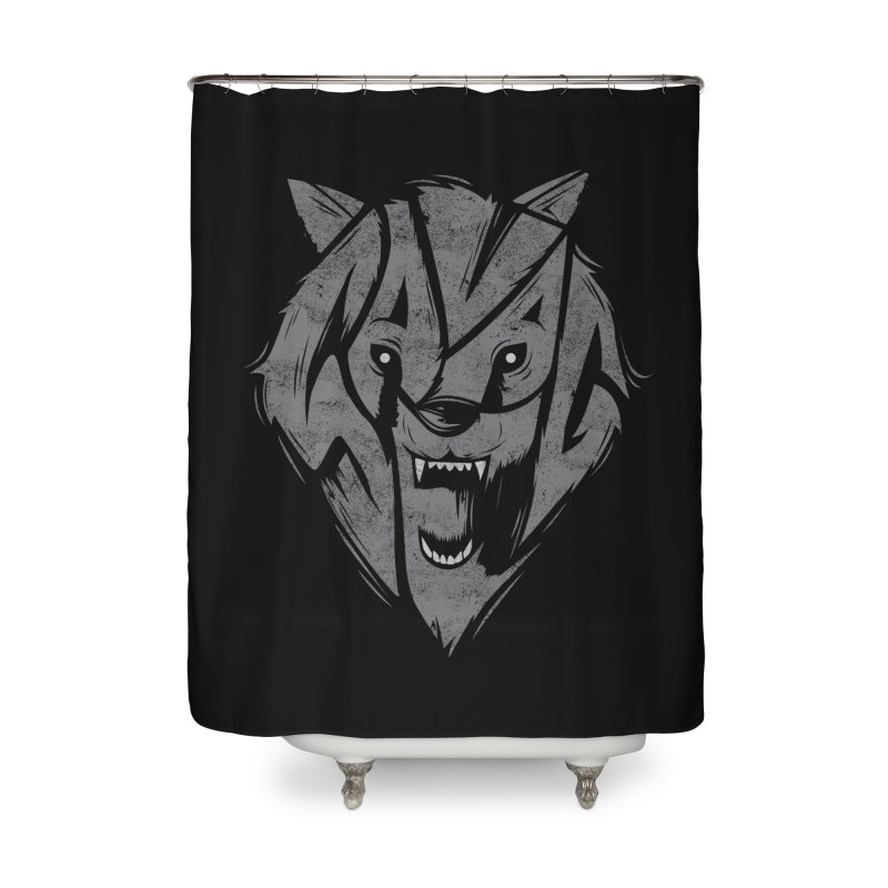 Savage Home Shower Curtain by danielstevens's Artist Shop