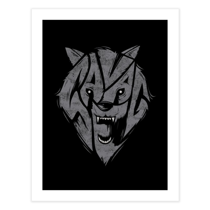 Savage Home Fine Art Print by Daniel Stevens's Artist Shop
