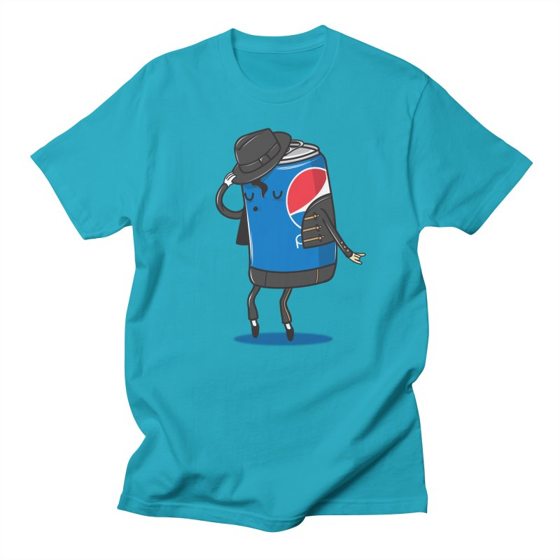 The King Of Pop Men's Regular T-Shirt by danielstevens's Artist Shop