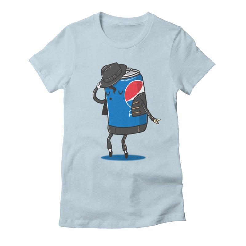 The King Of Pop Women's T-Shirt by danielstevens's Artist Shop