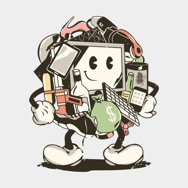 Mr Consumer Kids T-Shirt by Daniel Stevens's Artist Shop