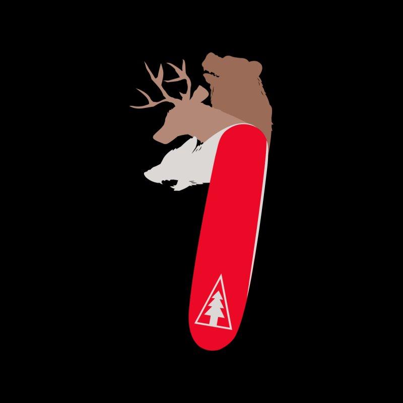 Natures Pocket Knife Kids T-Shirt by Daniel Stevens's Artist Shop