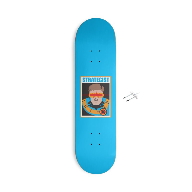 Strategist Accessories Skateboard by Daniel Stevens's Artist Shop