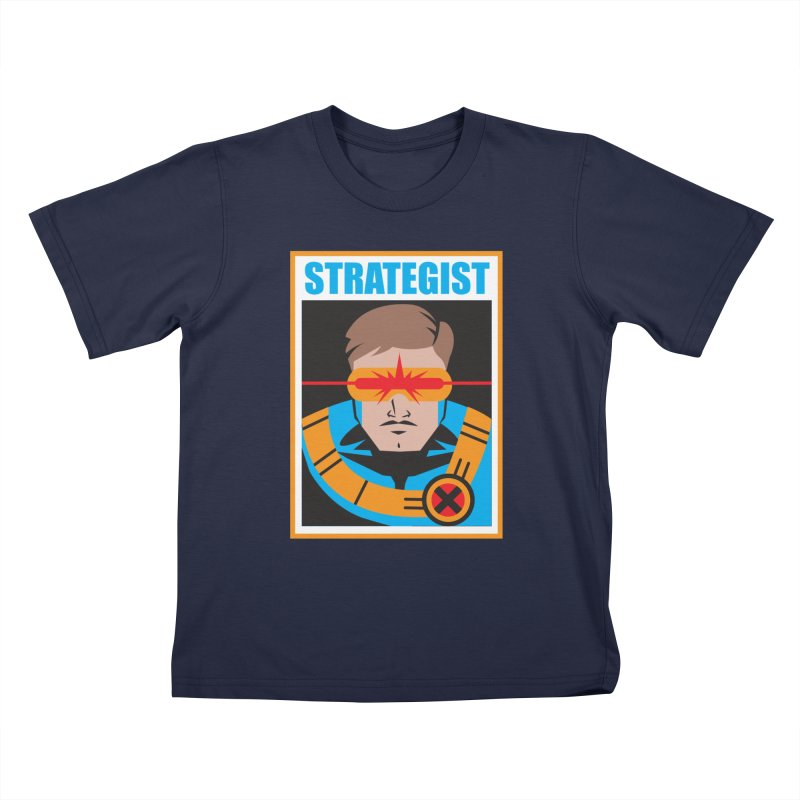 Strategist Kids T-Shirt by Daniel Stevens's Artist Shop