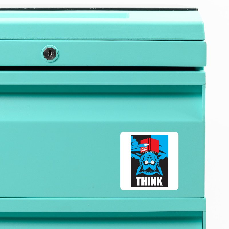 Think Accessories Magnet by Daniel Stevens's Artist Shop