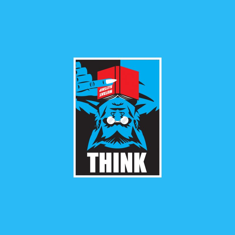 Think Kids T-Shirt by Daniel Stevens's Artist Shop