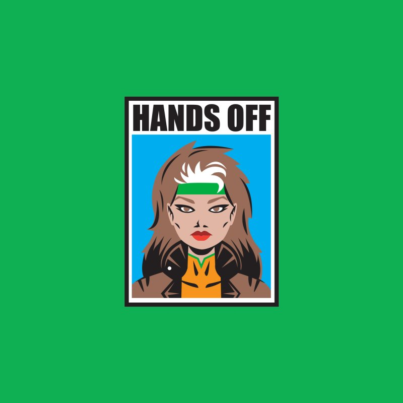 Hands Off Accessories Mug by Daniel Stevens's Artist Shop