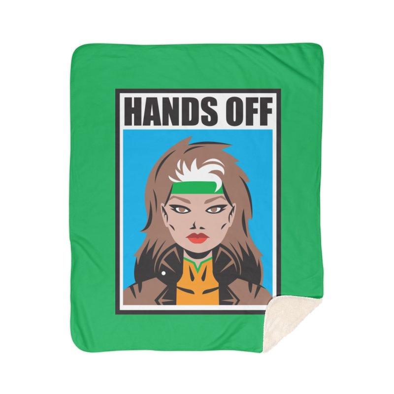 Hands Off Home Blanket by Daniel Stevens's Artist Shop