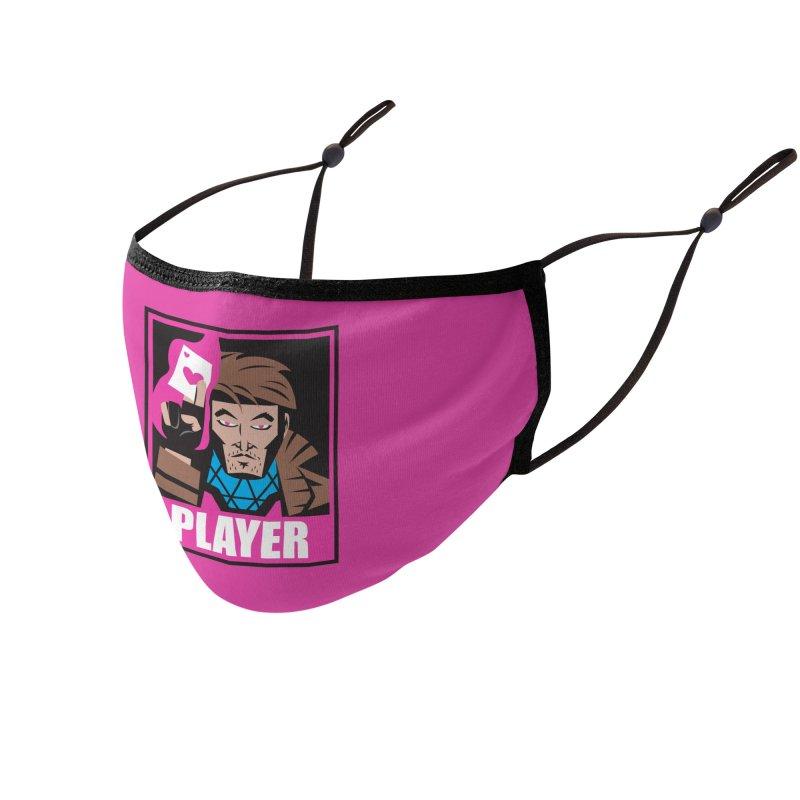 Player Accessories Face Mask by Daniel Stevens's Artist Shop
