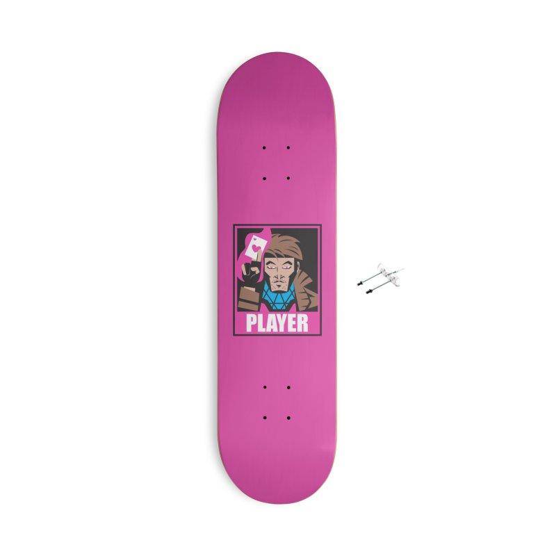 Player Accessories Skateboard by Daniel Stevens's Artist Shop