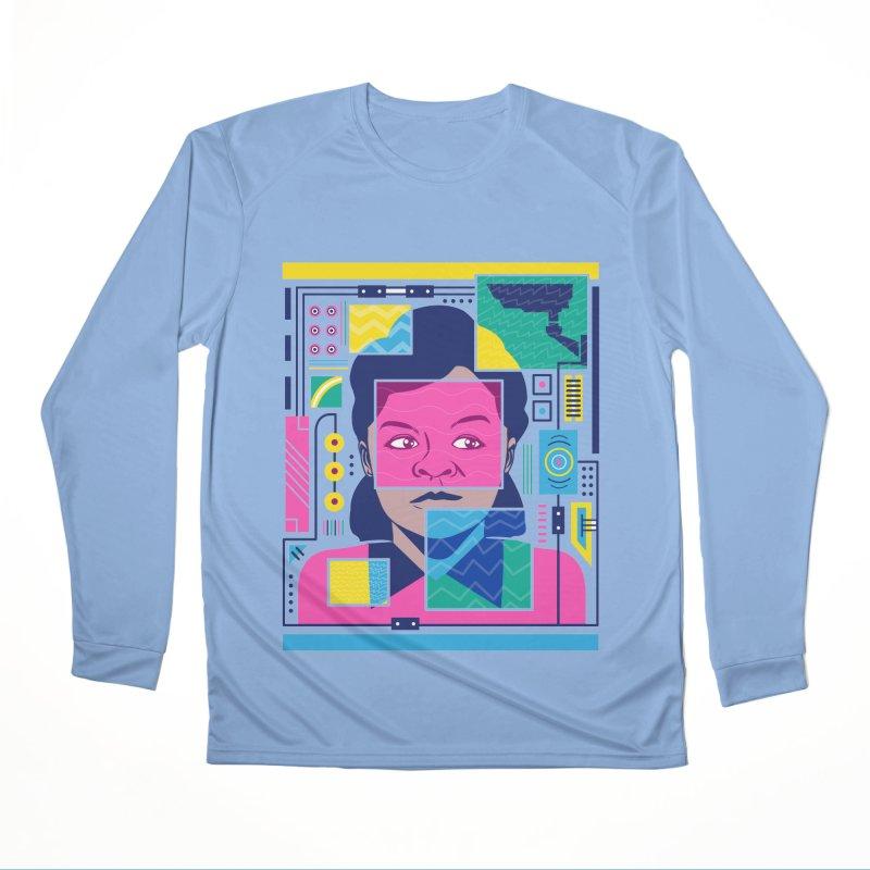 Marie Van Brittan Brown Women's Longsleeve T-Shirt by Daniel Stevens's Artist Shop