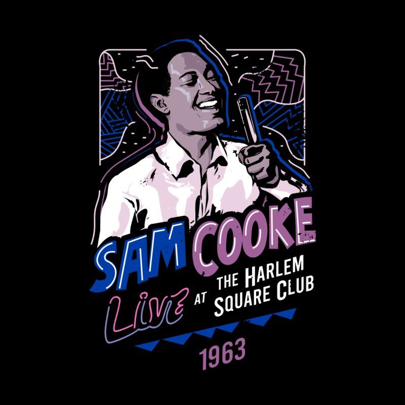 Sam Cooke Kids Toddler Pullover Hoody by Daniel Stevens's Artist Shop