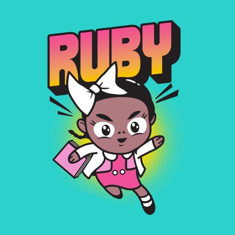 Ruby Kids Toddler Pullover Hoody by Daniel Stevens's Artist Shop