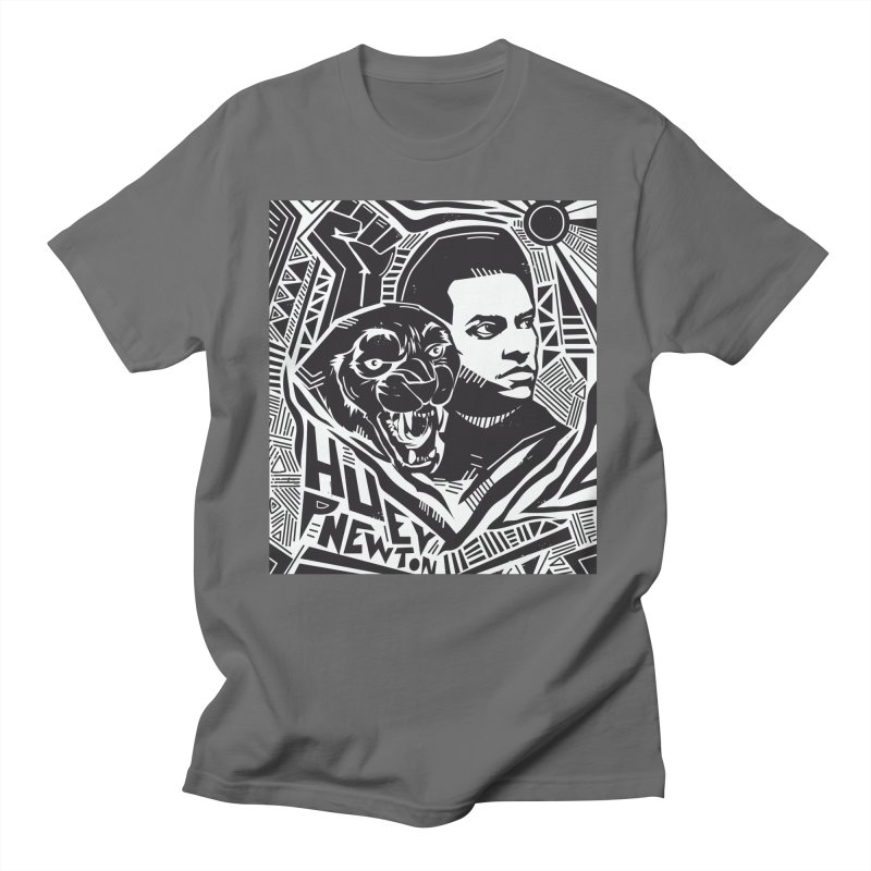 Huey P Newton Men's T-Shirt by Daniel Stevens's Artist Shop