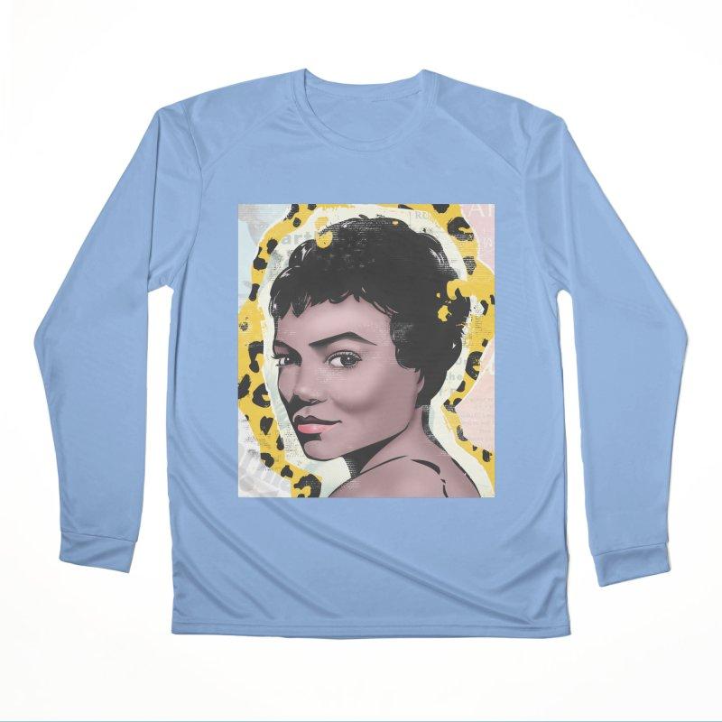 Eartha Kitt Women's Longsleeve T-Shirt by Daniel Stevens's Artist Shop