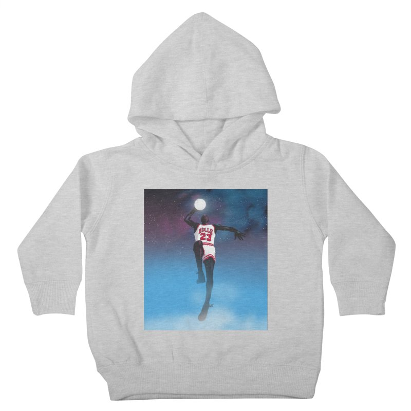 Space Jam (Jordan) Kids Toddler Pullover Hoody by Daniel Stevens's Artist Shop