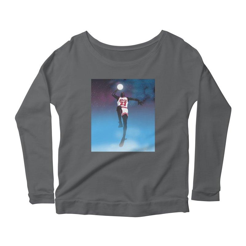 Space Jam (Jordan) Women's Longsleeve T-Shirt by Daniel Stevens's Artist Shop