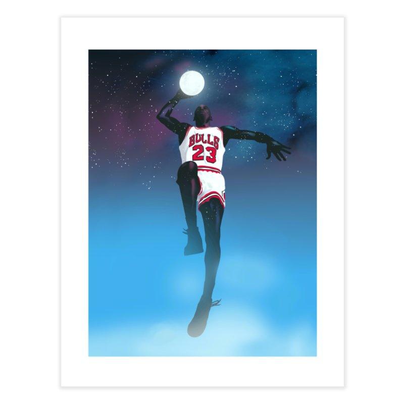 Space Jam (Jordan) Home Fine Art Print by Daniel Stevens's Artist Shop