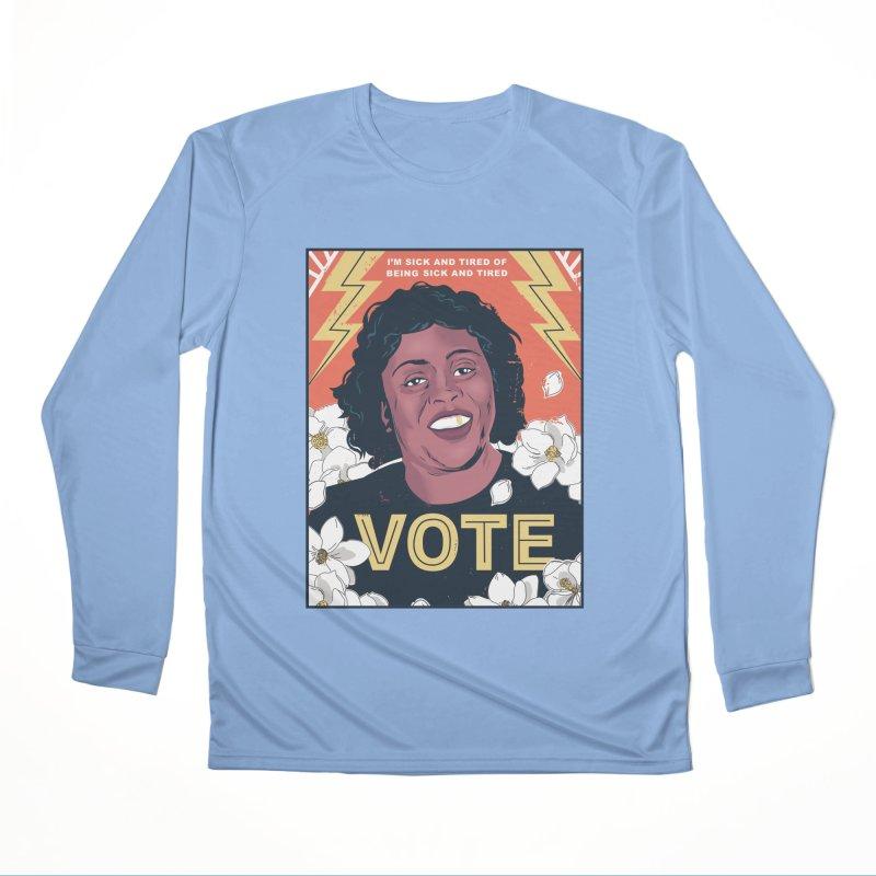Fannie Lou Hammer Women's Longsleeve T-Shirt by Daniel Stevens's Artist Shop
