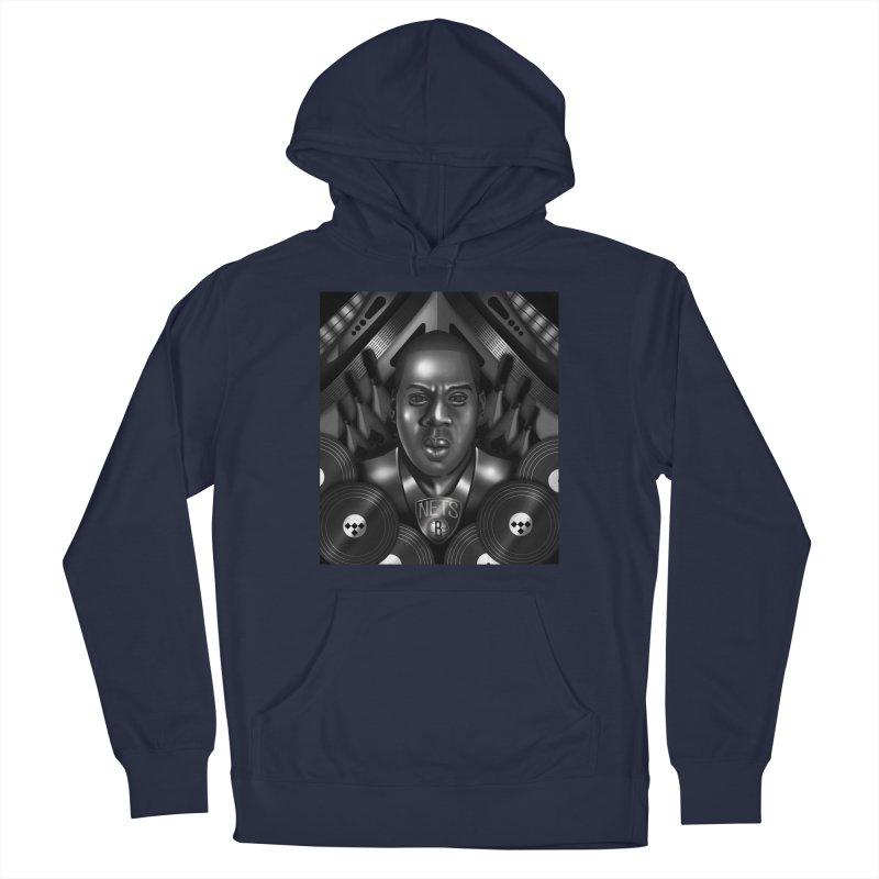 Jay-Z Men's Pullover Hoody by Daniel Stevens's Artist Shop