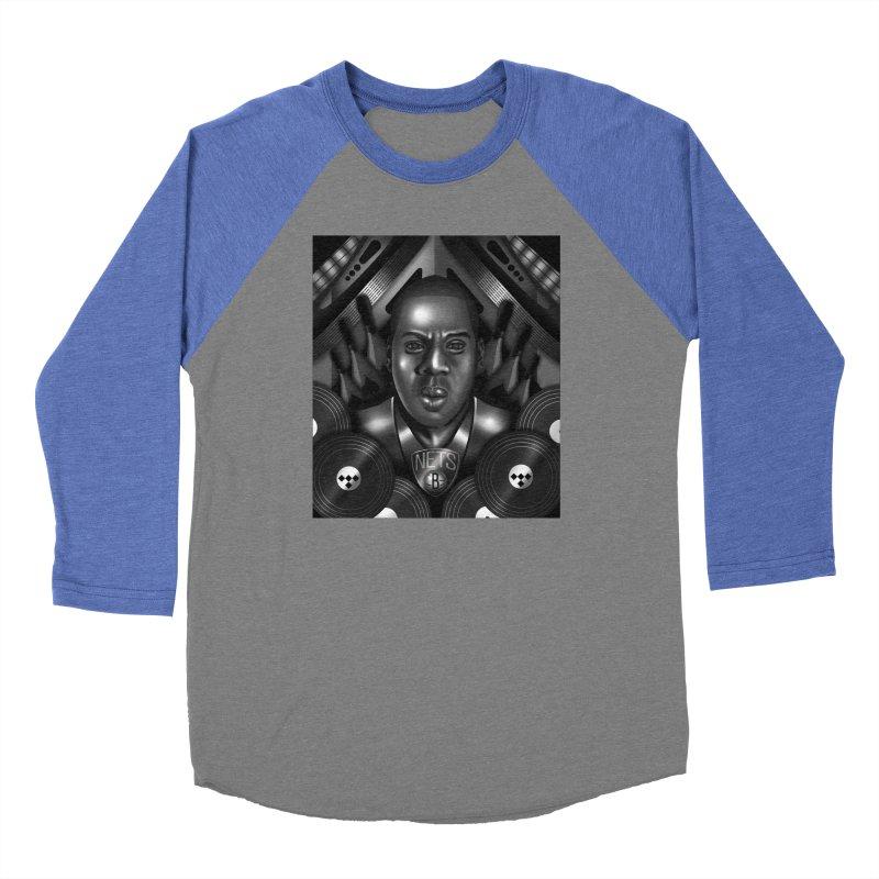 Jay-Z Women's Longsleeve T-Shirt by Daniel Stevens's Artist Shop