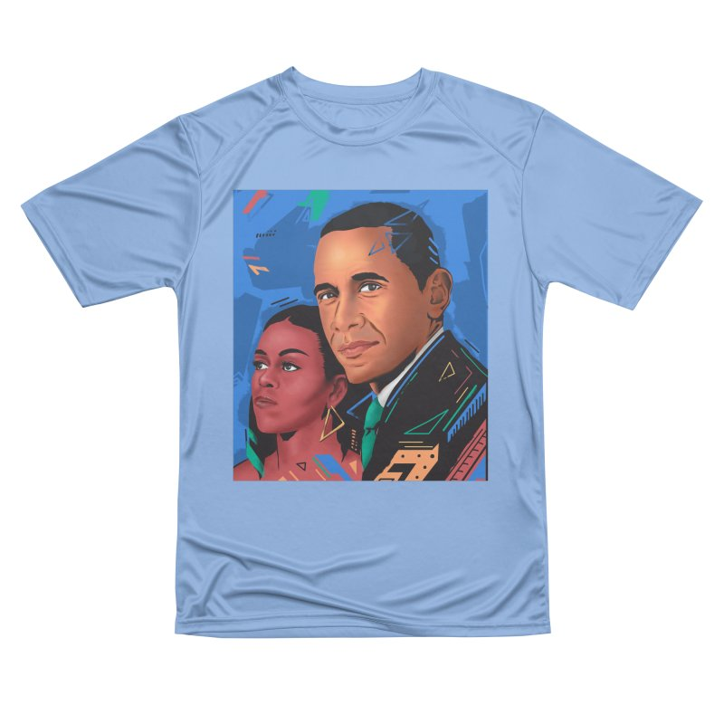 Obamas Women's T-Shirt by Daniel Stevens's Artist Shop