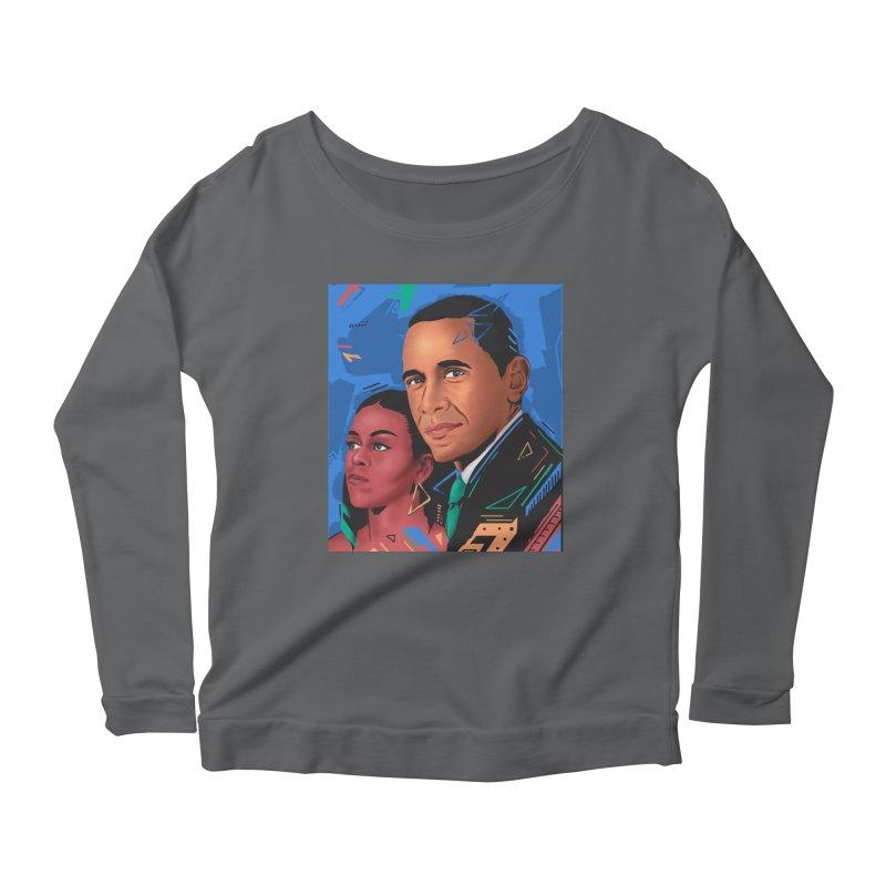 Obamas Women's Longsleeve T-Shirt by Daniel Stevens's Artist Shop