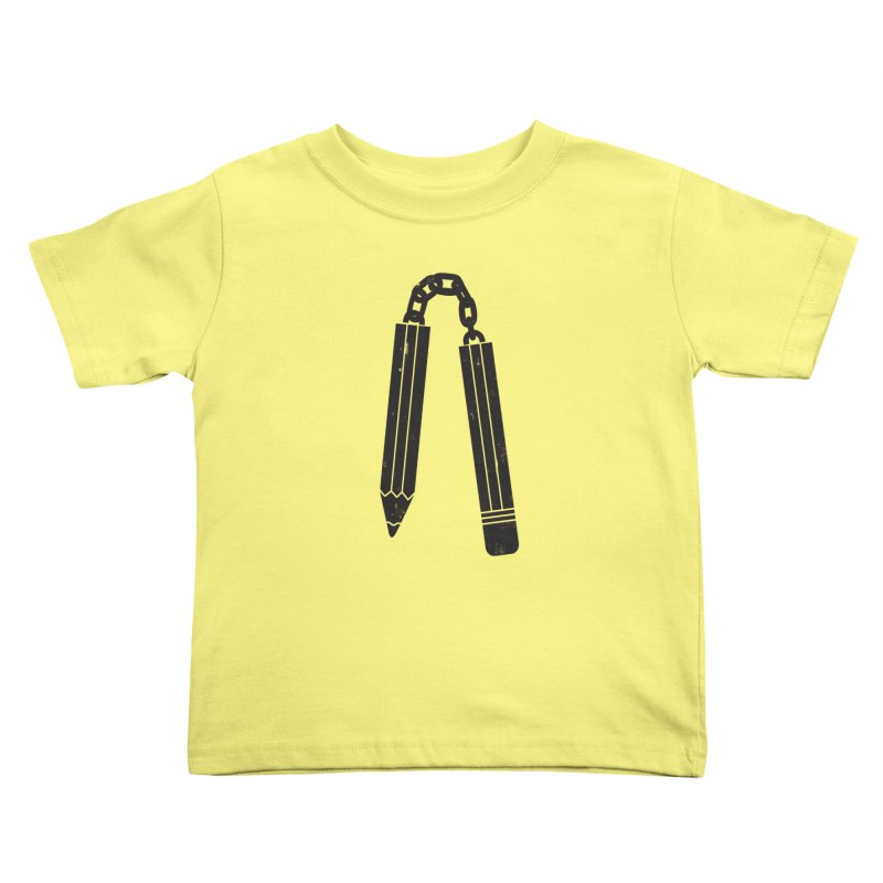 "Martial ""Arts"" Master Kids Toddler T-Shirt by danielstevens's Artist Shop"