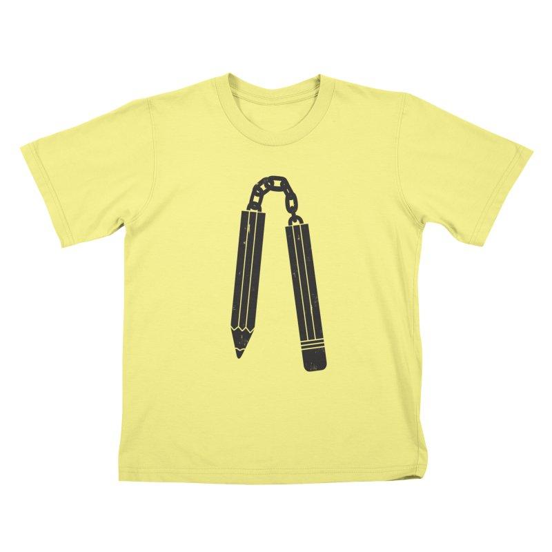 """Martial """"Arts"""" Master Kids T-shirt by danielstevens's Artist Shop"""