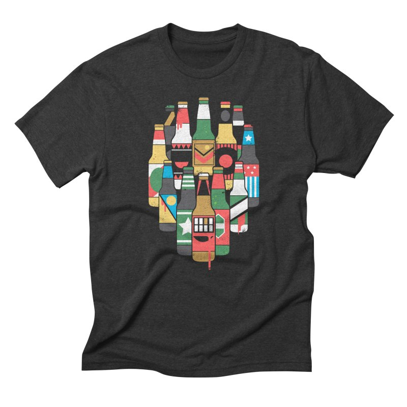 Zombeer Men's Triblend T-shirt by danielstevens's Artist Shop