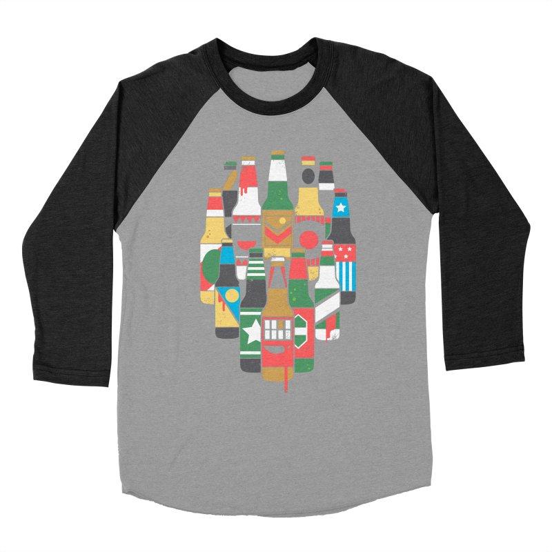 Zombeer Men's Baseball Triblend T-Shirt by danielstevens's Artist Shop