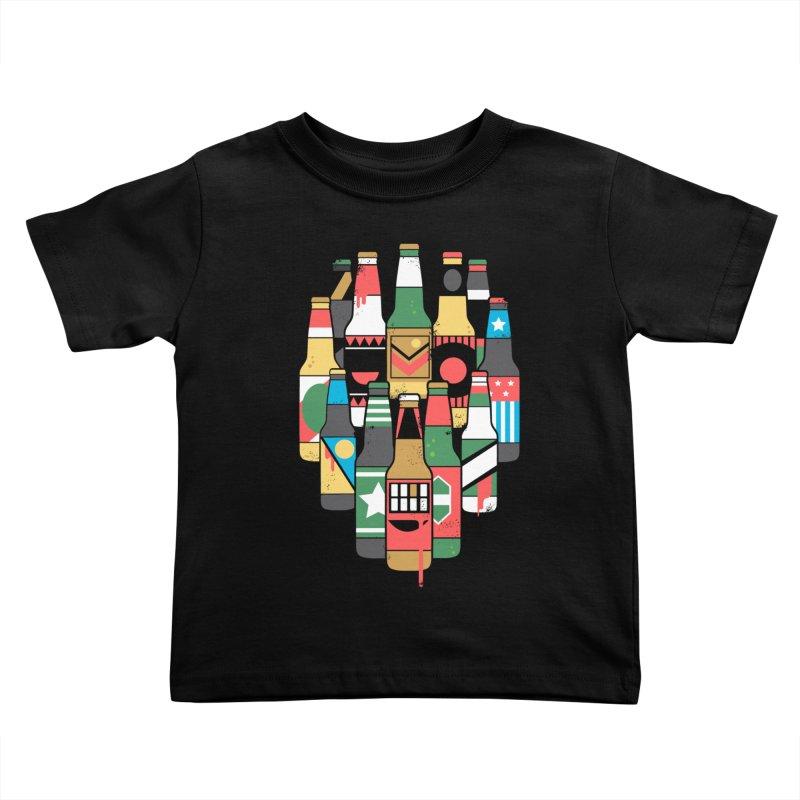 Zombeer Kids Toddler T-Shirt by danielstevens's Artist Shop