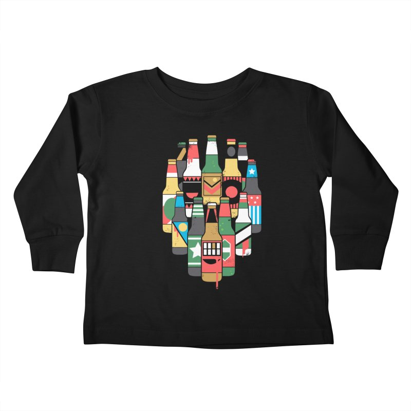 Zombeer Kids Toddler Longsleeve T-Shirt by danielstevens's Artist Shop